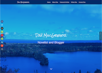 Image of Dax MacGregor home page
