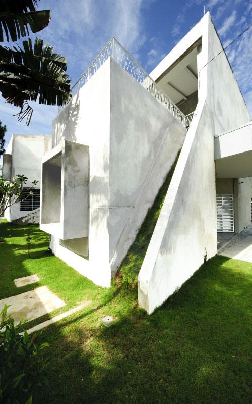 Green Architects masterplan for Ganendra art House
