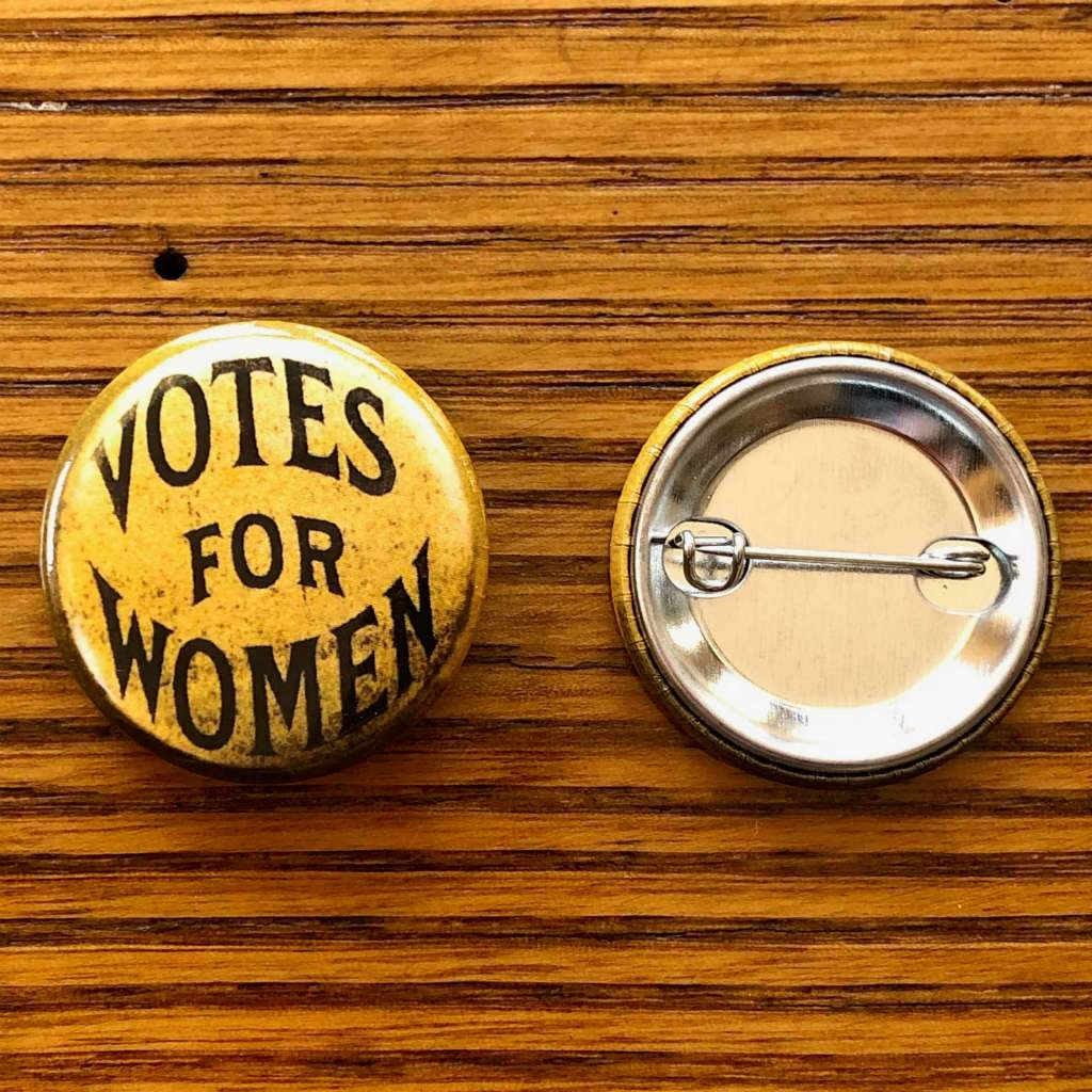 Votes For Women Button Tr Historical