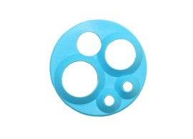 Dental – Handpiece Light Source – 5-Hole HP Gasket (Blue)