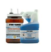 BIO-PURE Liquid eVac Cleaner Starter – Includes: 2801402 32oz Cleaner & 2801004 48oz Dispenser – 32oz. = 128 Treatments