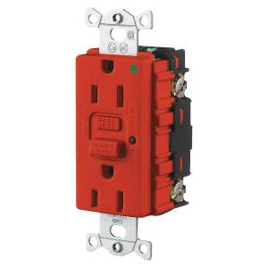 Electrical – GFCI (Commerical Grade 120V 15A Red)