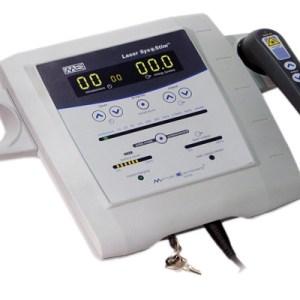 Laser – Mettler Sys*Stim 540 with both applicators