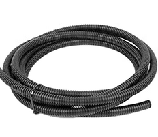 Electrical – Tubing 1/2″. Tubing is split for easy install of wire.