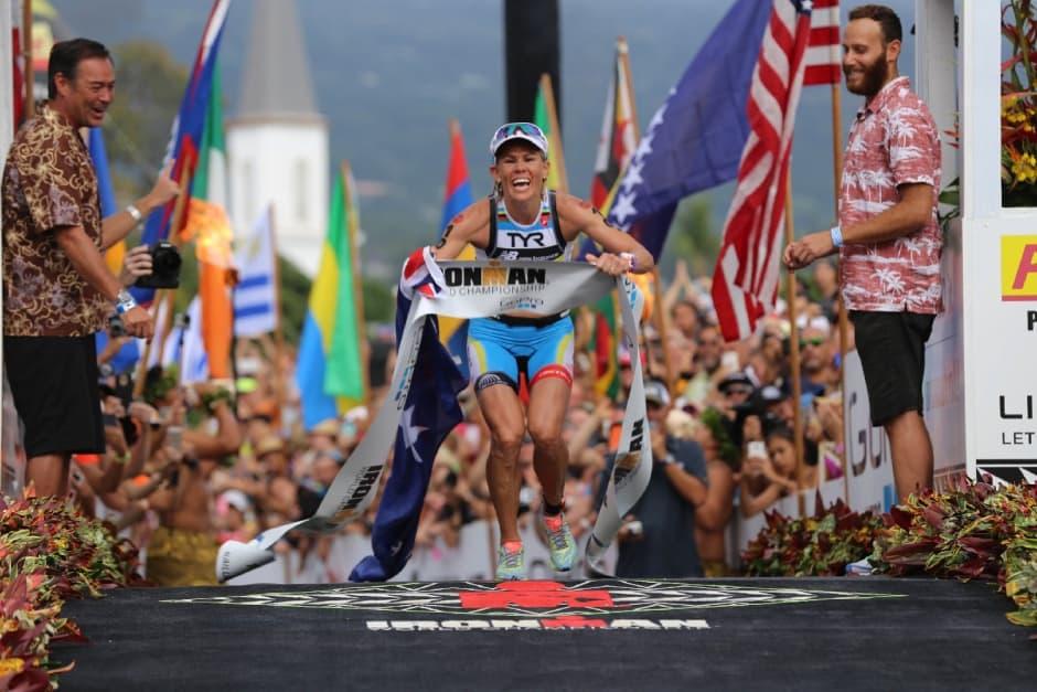 Die dreifache Hawaii-Siegerin