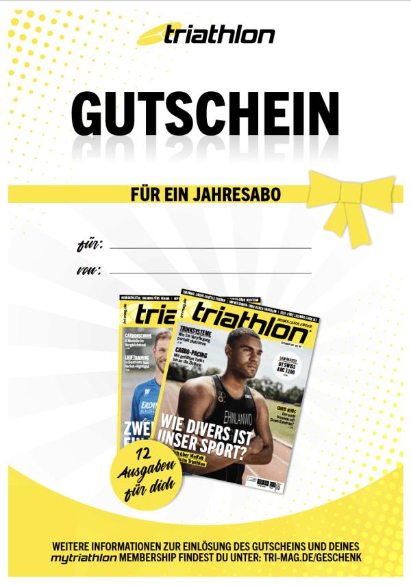 triathlon-Geschenkabo