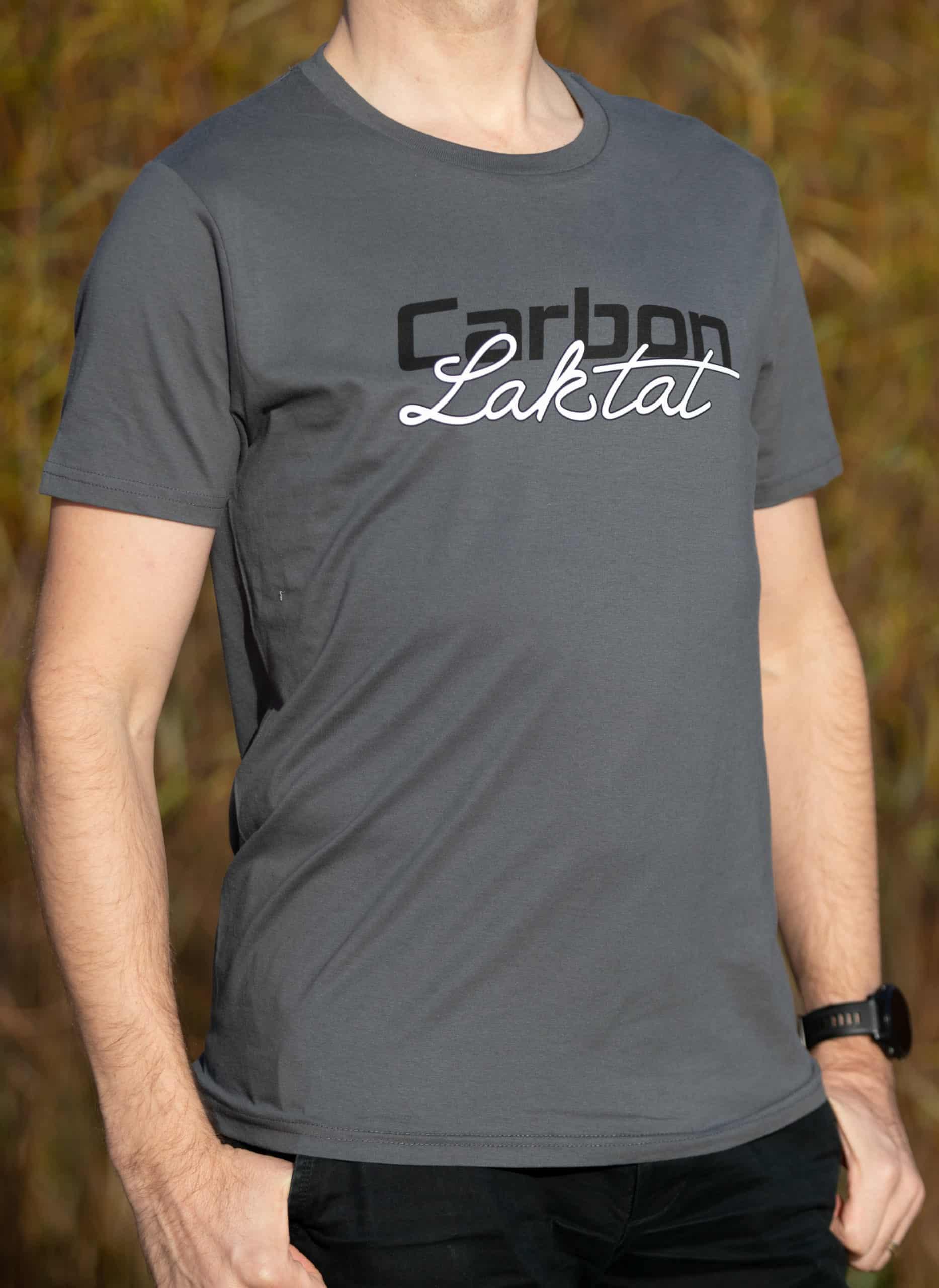Carbon & Laktat T-Shirt grau