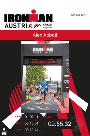 Ironman Austria Finish