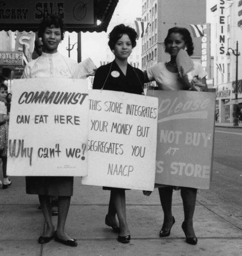 15 – Ladies marching
