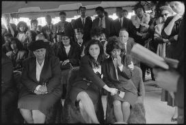 34 - Mourners at a funeral
