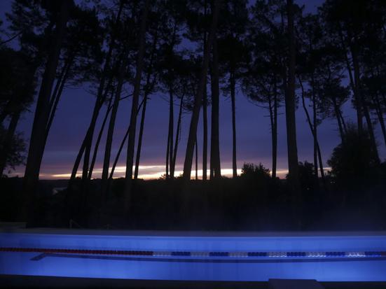 piscine bakéa nuit