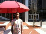 Aaron McCorkle, an openly gay student at Winston-Salem State University, lost his election for Mr. Ram in the aftermath of a series of derogatory tweets.