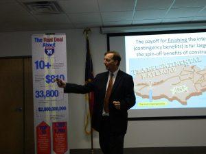 WSSU economist Craig J. Richardson