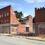 Kilby Hotel partially collapses in High Point