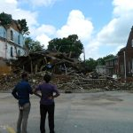 Collapse of Kilby Hotel sends bystanders fleeing