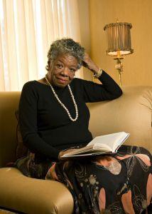 Maya Angelou died at her home in Winston-Salem last week.