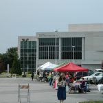 Library plan ousts markets and other public gatherings