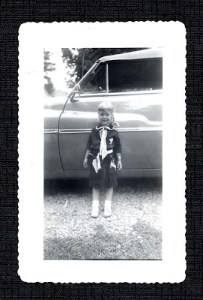 Woodroof as a kid