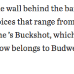 Wall Street Journal craft beer article covers Jake's Billiards