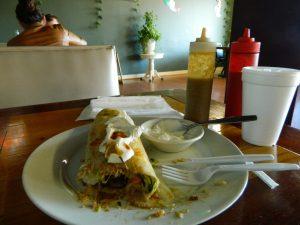 The XL Burrito at Taquitos to Go