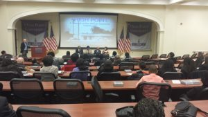 The film debuted at High Point University to a crowd of people with real concerns about their communities.
