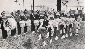 The William Penn High School Marching Band wore castoff uniforms from Central High.