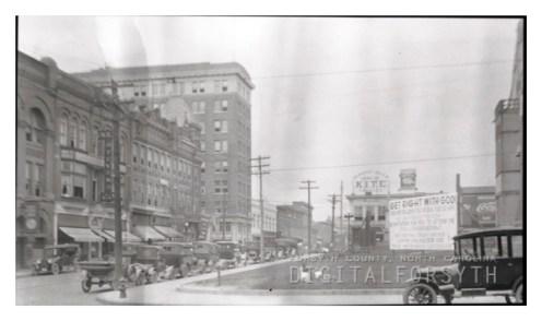 Downtown Winston-Salem in 1925