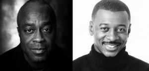 Charles Burnett (left) and Robert Townsend