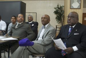 Left: Rev. Greg Headen