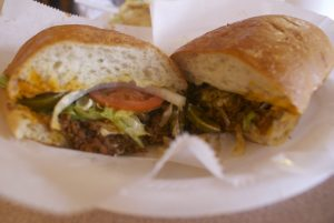 The chorizo torta (also above)