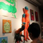 Gallery hop showcases tight-knit arts community