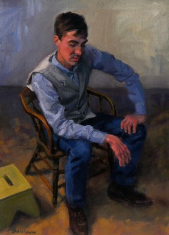 Devin Leonardi portrait by Amy Brakeman Livezey