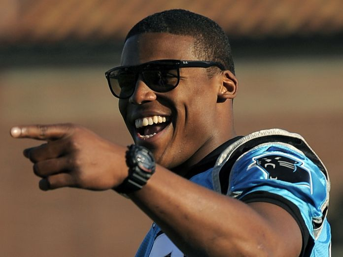He's no Drew Brees, but I've got to admit Cam Newton is pretty good.