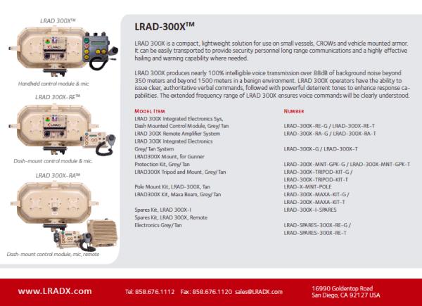 The LRAD 300x