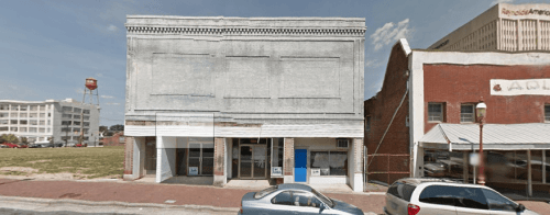 A Google street view of the building
