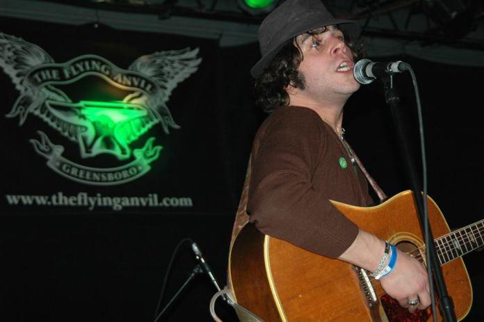 Langhorne Slim at the Anvil's final show on Dec. 30, 2006.