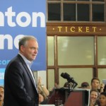 Kaine speech at Greensboro depot highlights economic inequality