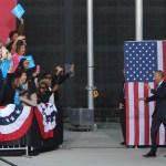 PHOTOS: Obama campaigns for Clinton in Greensboro