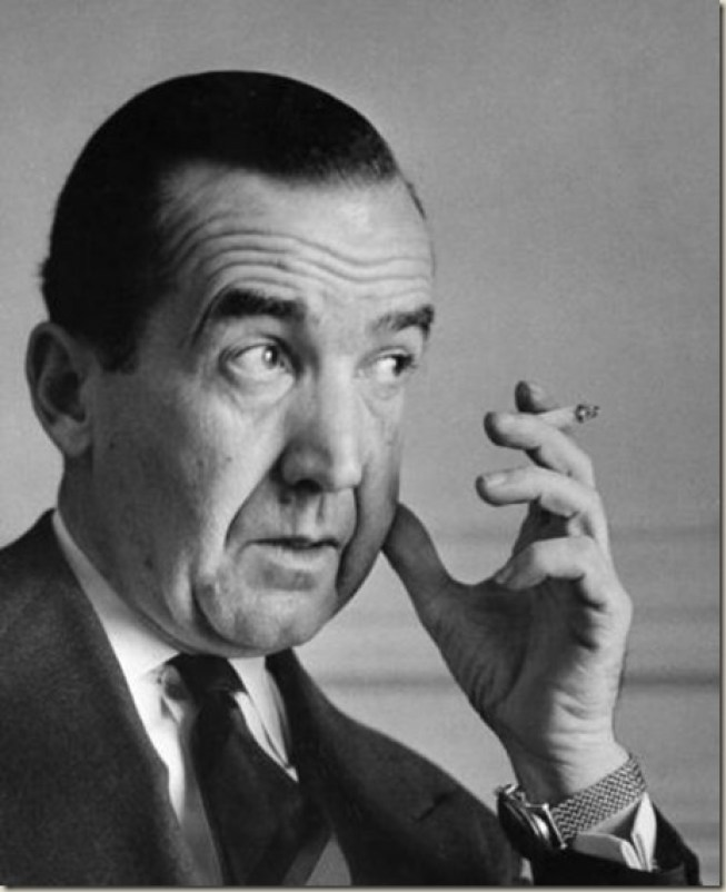Murrow, a lifelong smoker, died from lung cancer at 57.