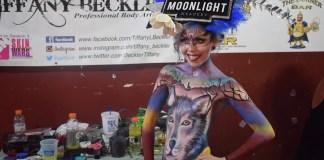 Taylor-ridge-tiffany-beckler-body-paint-painting-corner-bar-greensboro
