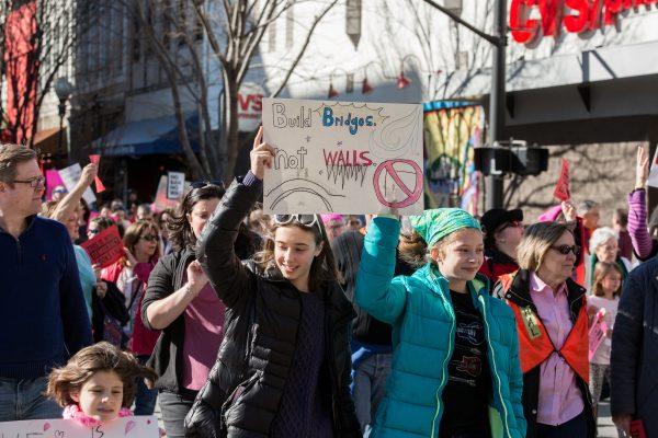 women-march-on-polls-winston-salem-todd-turner