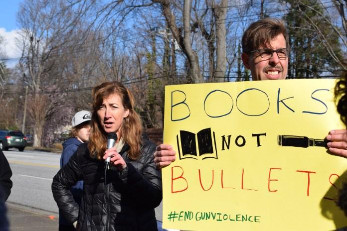 senator-richard-burr-gun-protest-walkout-day