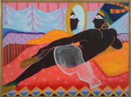 nefertiti-eva-hamlin-miller-delta-arts-center-african-american-art