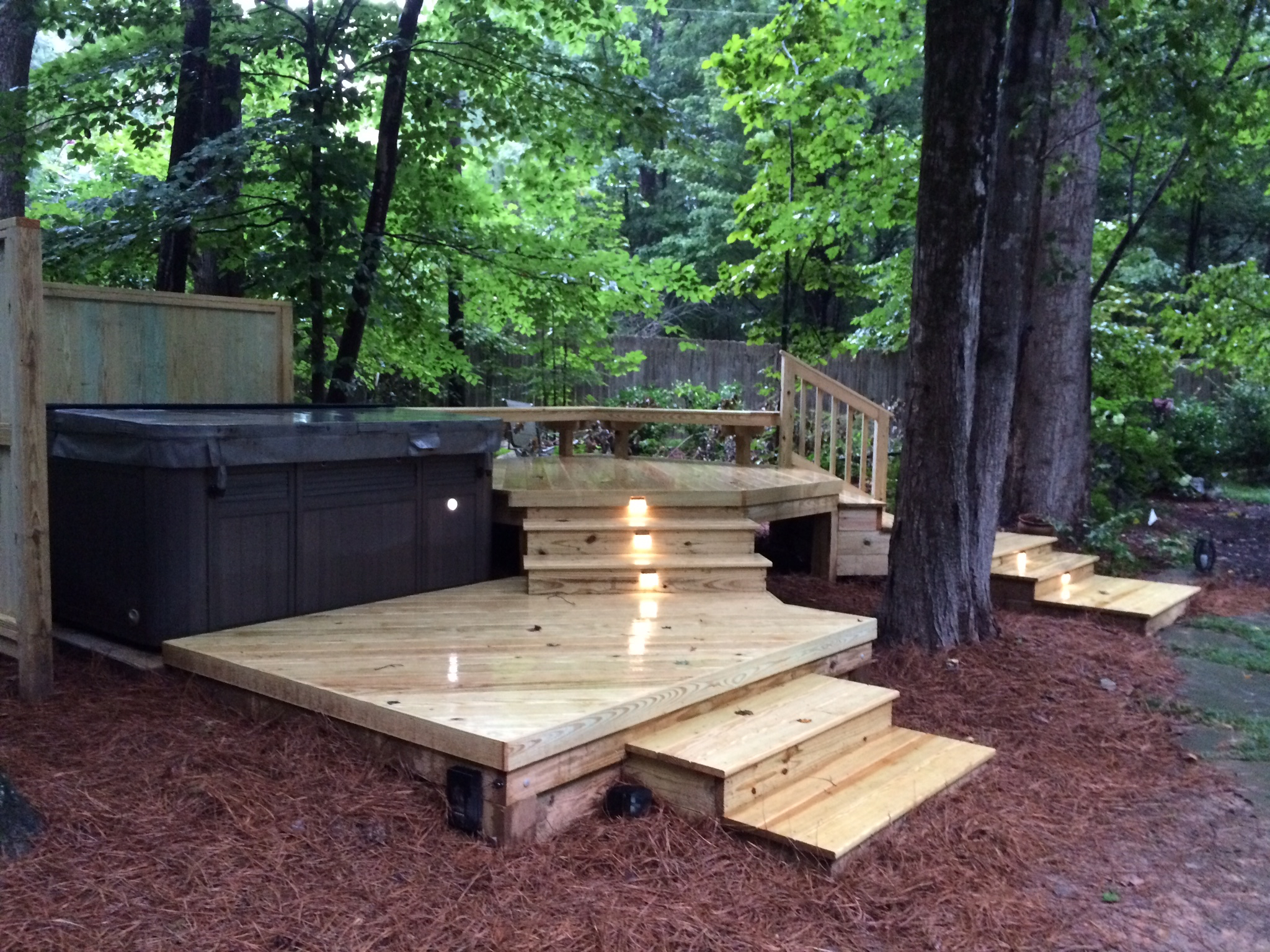 Zen Spa Deck For Total Relaxation Archadeck Of The