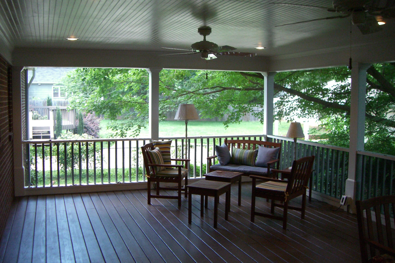 Screen Porches Triad Home Improvements Winston Salem Home Improvements