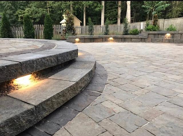 paver patios landscape solutions design