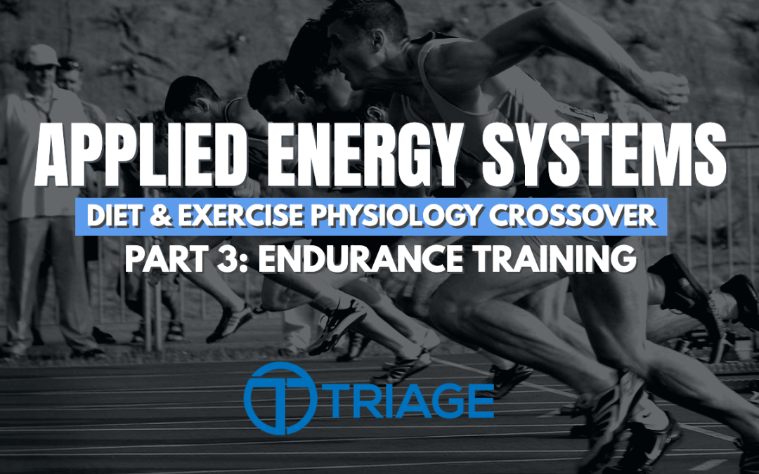 Applied Energy Systems - Part 3 - Endurance Training