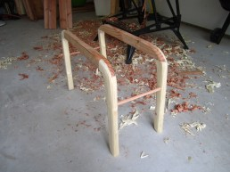 leg frame assembled