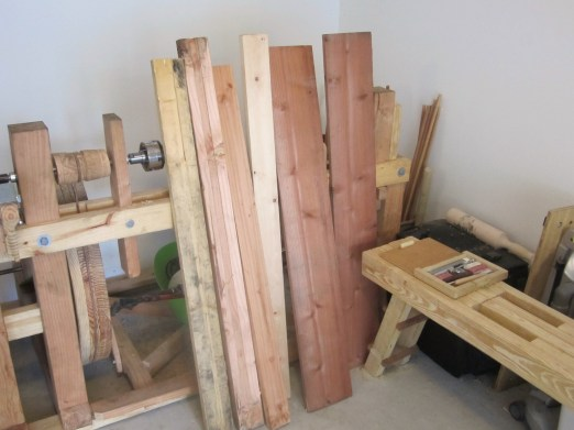 porch table lumber