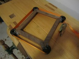 picture frame strap clamp